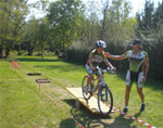 Percorso MountainBike simulato